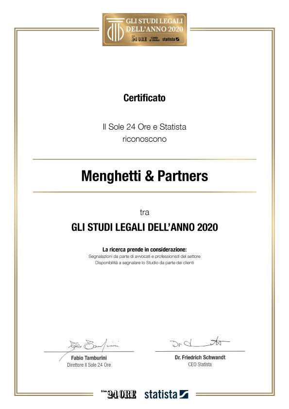 Studio Legale Menghetti Roma - Migliore Studio Legale 2020
