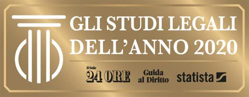 Studio Legale Megnhetti Roma - Studio Legale 2020 - Sole 24 Ore